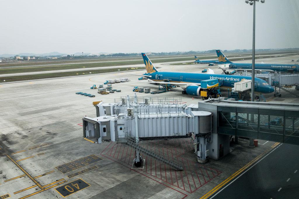 Hanoi Noi Bai Airport Terminal 2 Vietnam Airlines