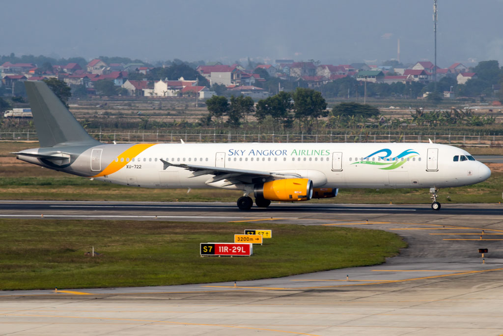 Sky Angkor Airlines A321