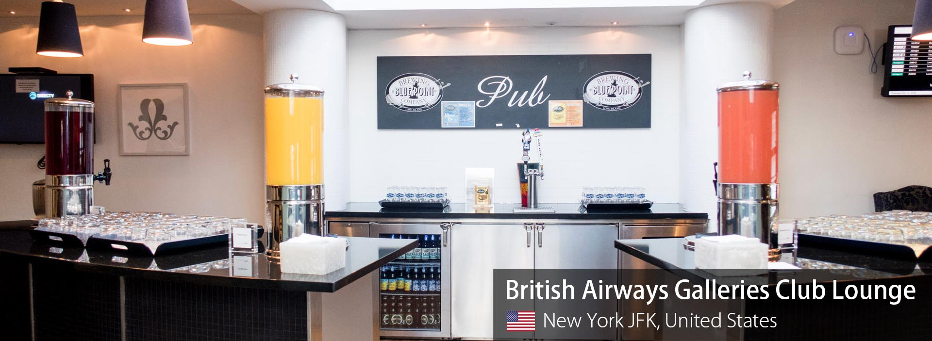 Lounge Review: British Airways Galleries Club Lounge at New York JFK