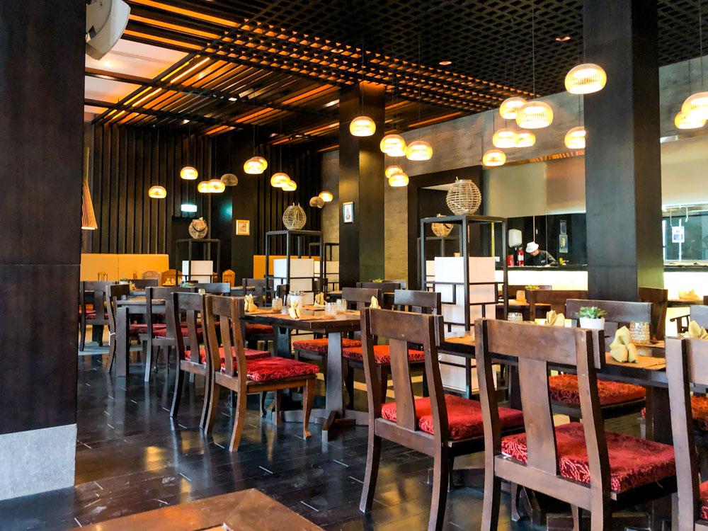 Sabai Thai Restaurant Seating