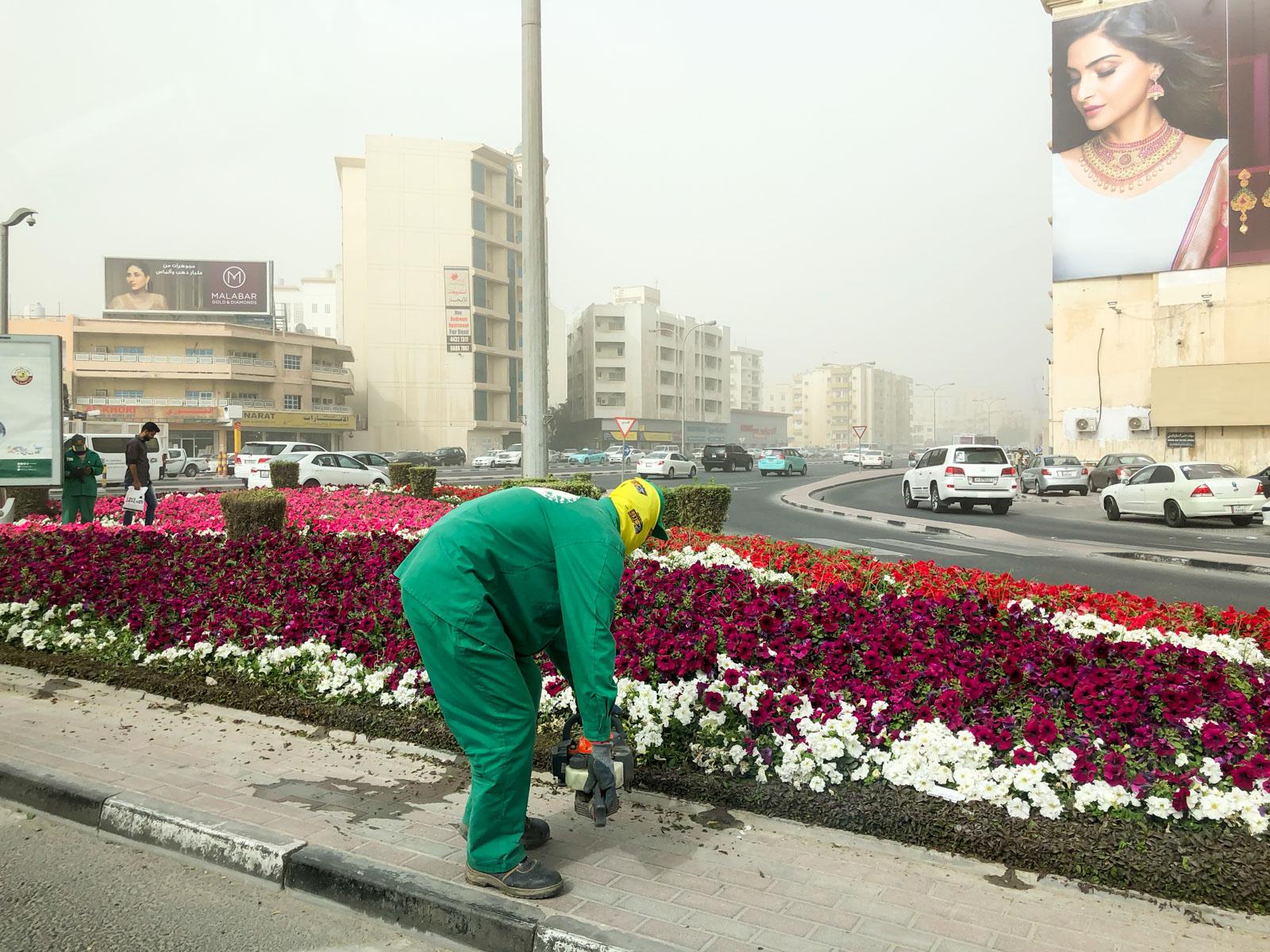 Hazy Doha