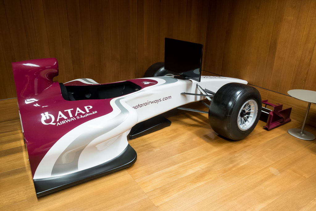 Qatar Airways Formula Simulator