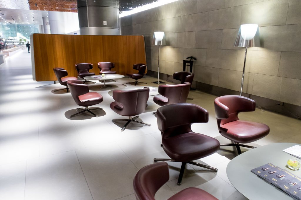 Seating in Doha Lounge