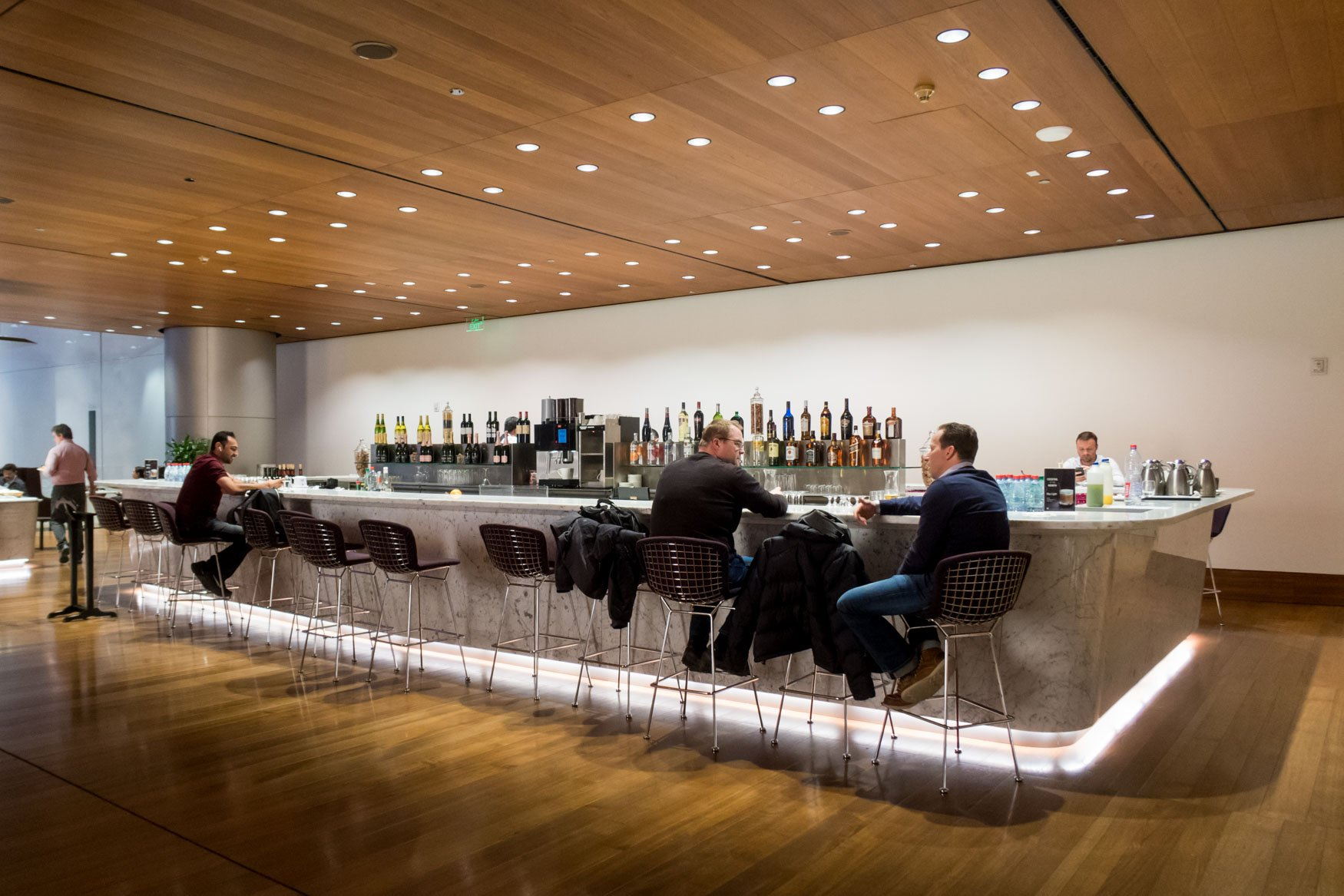 Qatar Airways Doha Lounge Bar