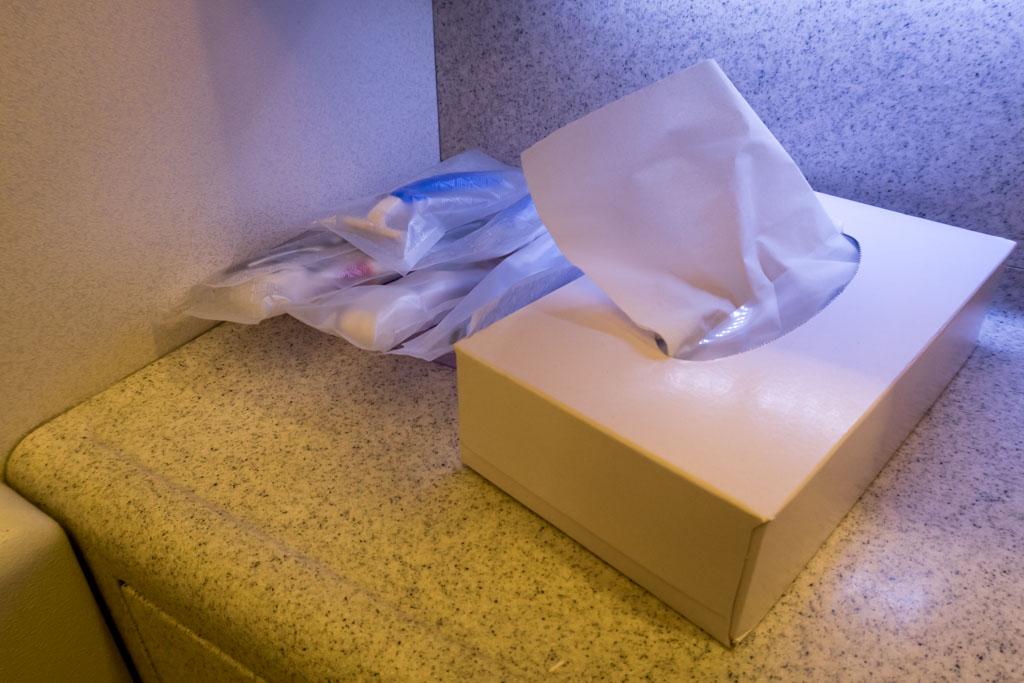 Tissues and Dental Kits