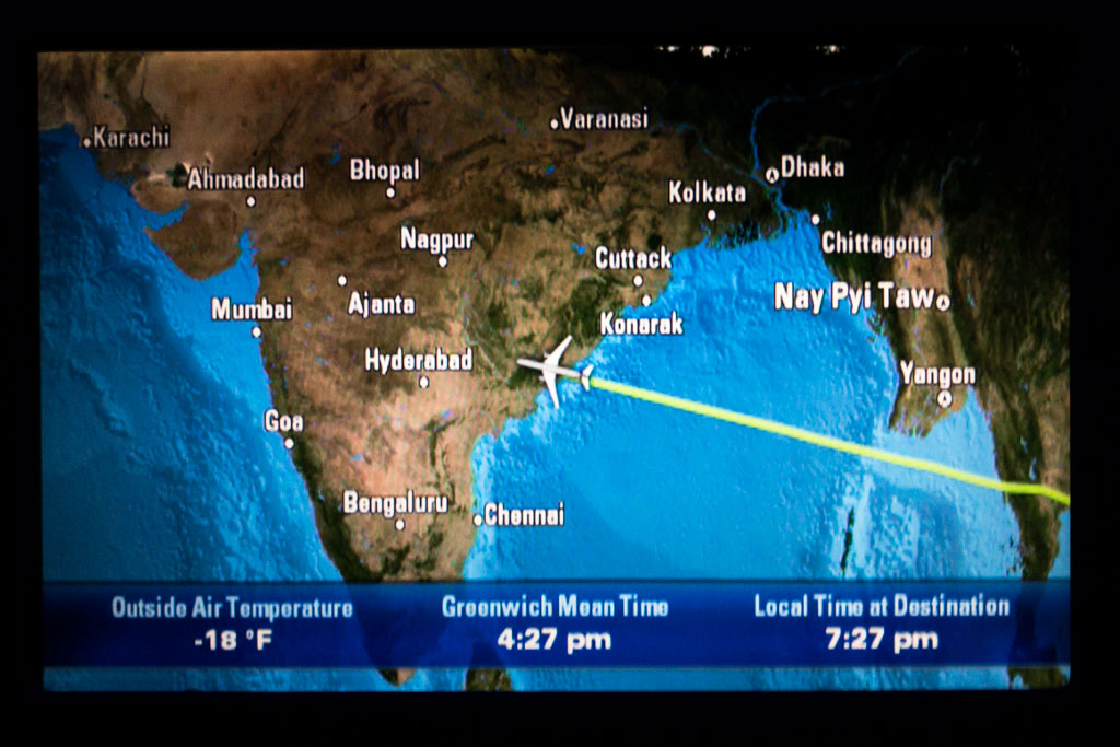 Approaching India