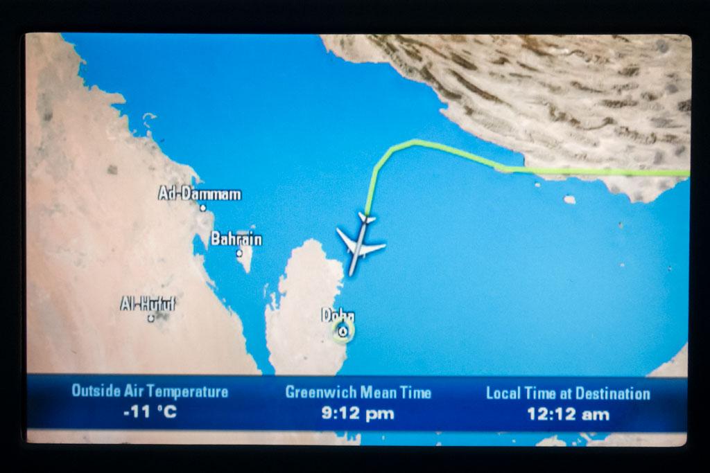 Approaching Doha