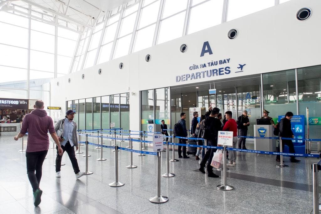 Hanoi Noi Bai Airport Departures
