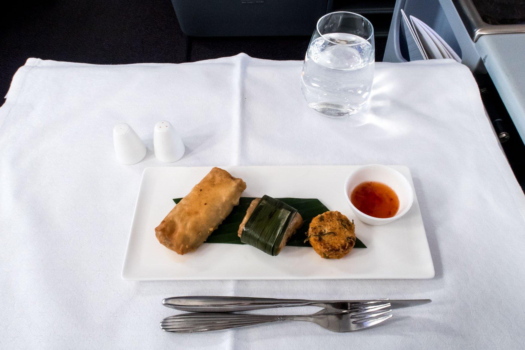 Qatar Airways Snack Hanoi - Bangkok