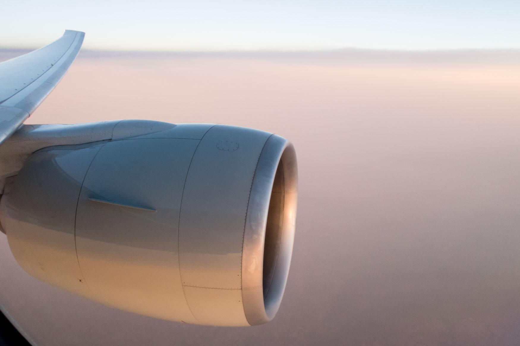 GE-90 Qatar Airways