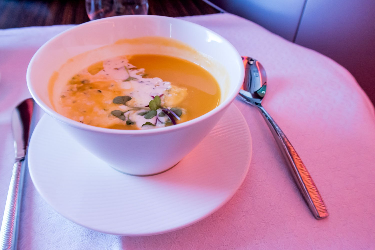 Butternut Squash Soup on QR