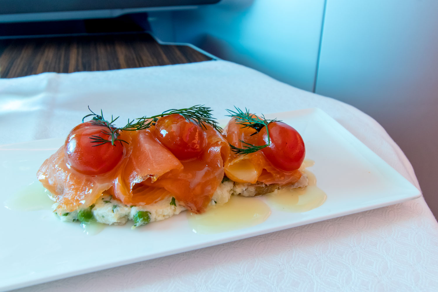 Smoked Salmon and Potato Salad Appetizer