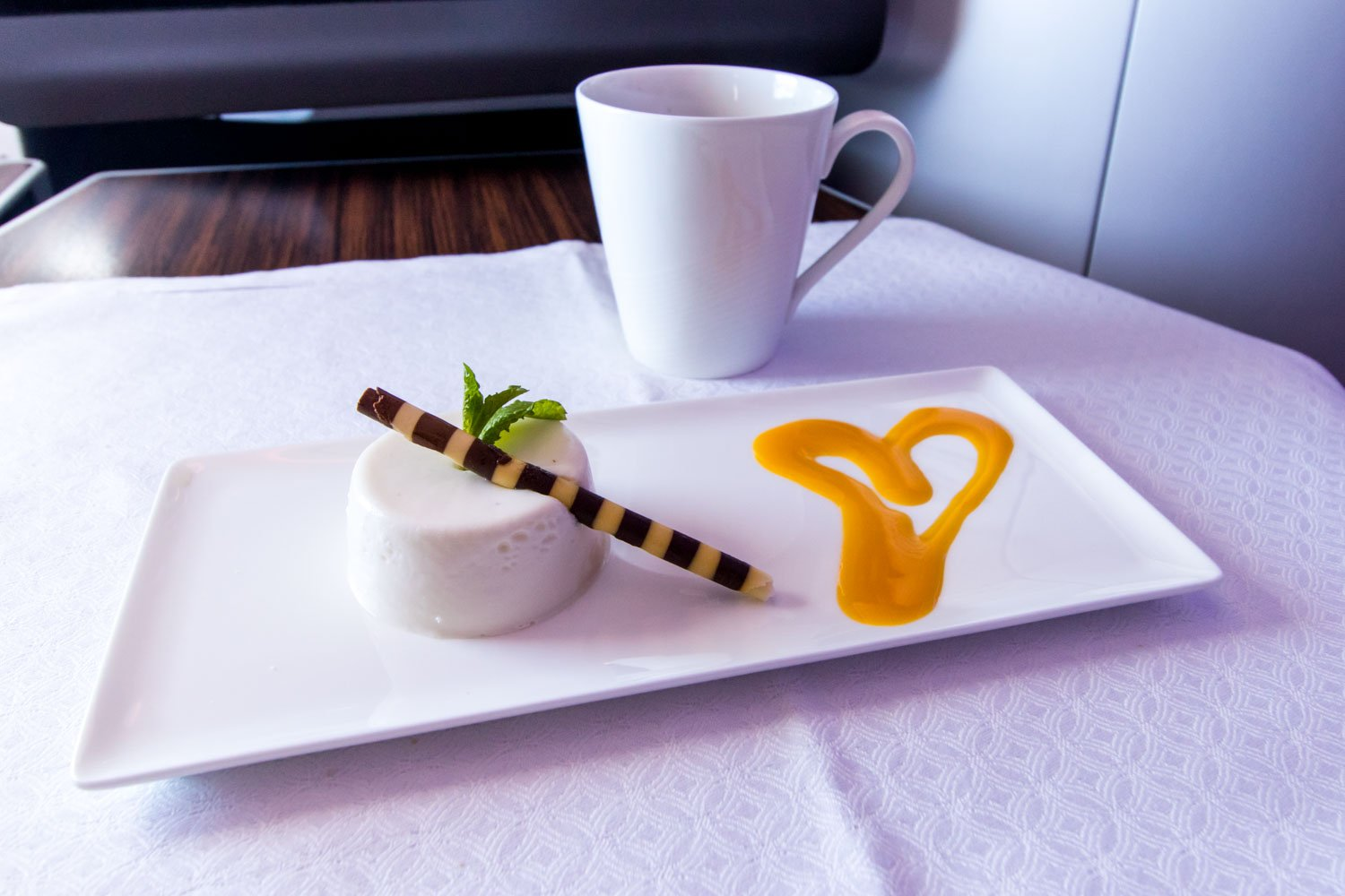 Panna Cotta and Tea