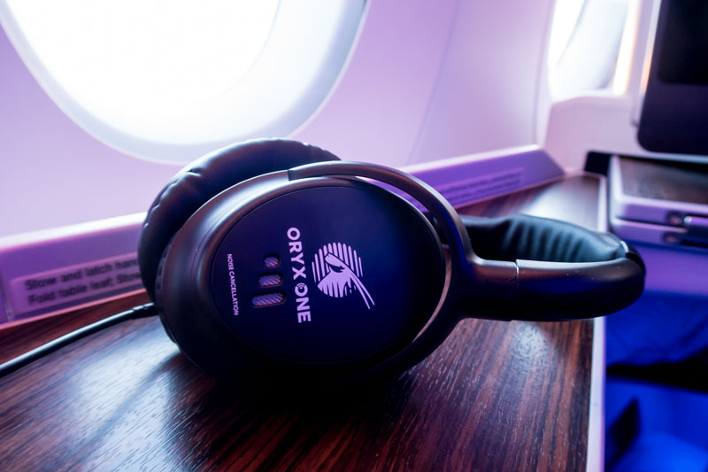 Qatar Airways Business Class Headset
