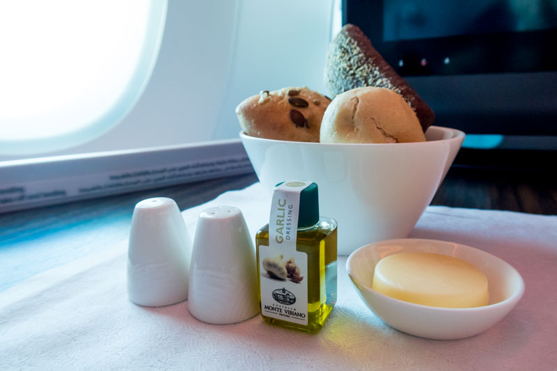 Qatar Airways Business Class Bread Basket