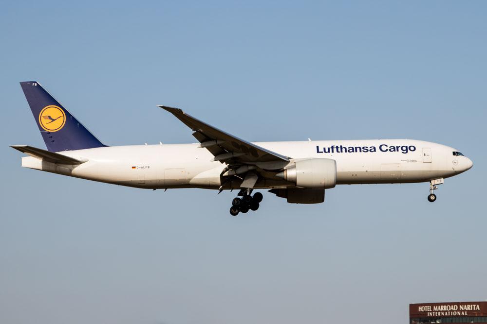 Lufthansa 777 Cargo