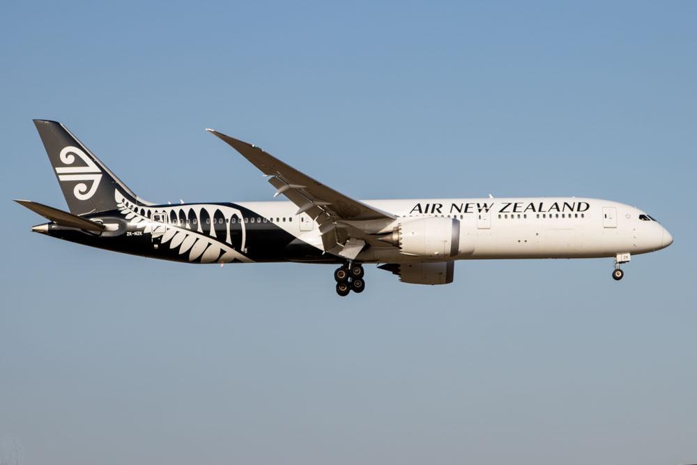 Air New Zealand 787 Tokyo Narita