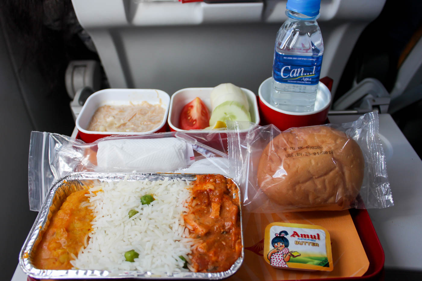 Air India Domestic Economy Class Lunch