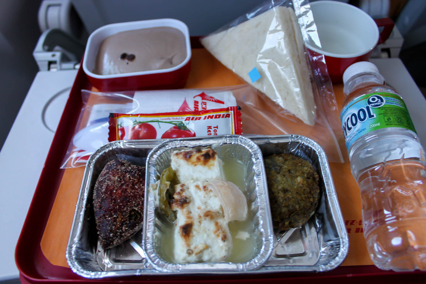 Air India Hot Snack