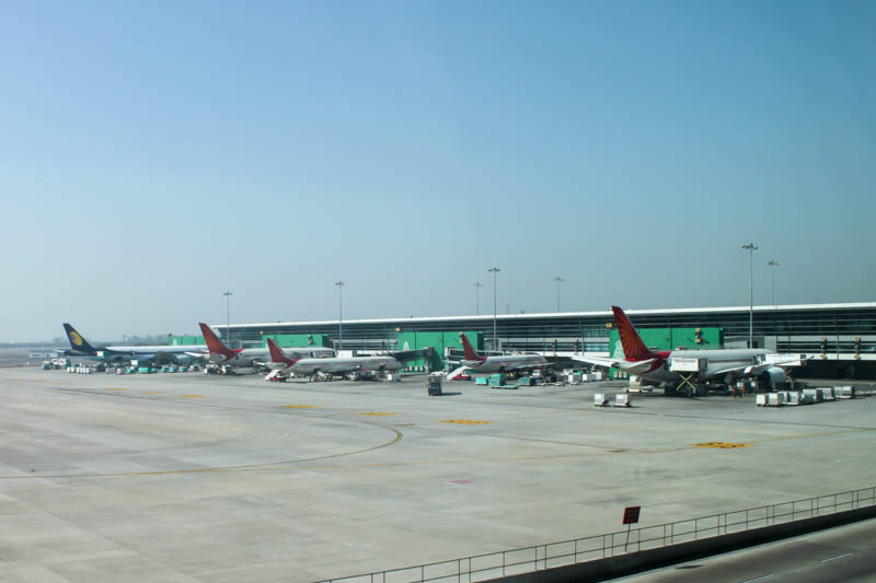Delhi Airport Air India Terminal
