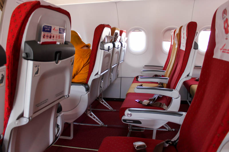 Air India Economy Class A320neo Seats