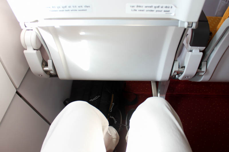 Air India A320neo Legroom