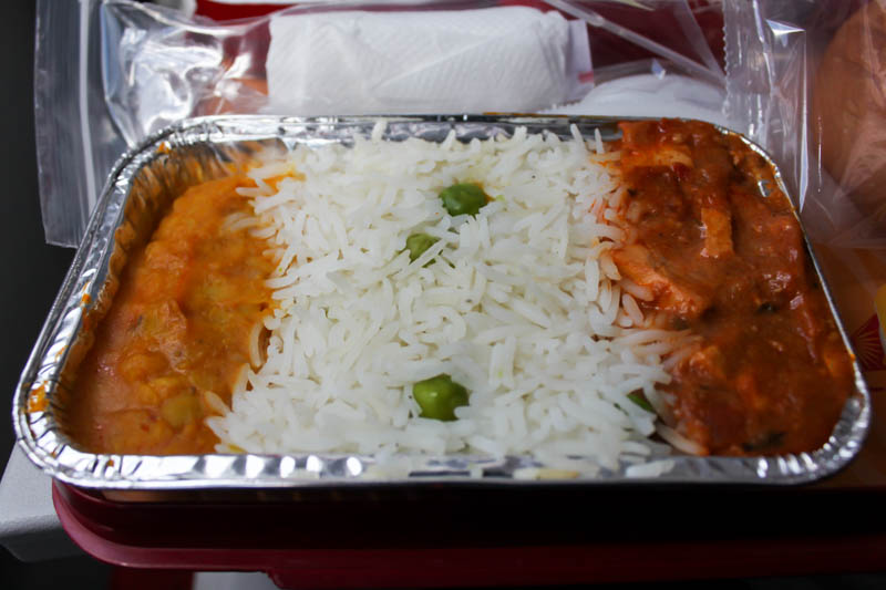 Air India Economy Class Main Meal