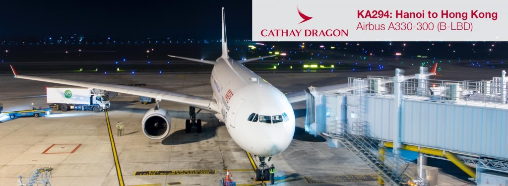 Flight Review: Cathay Dragon A330-300 Economy Class from Hanoi to Hong Kong