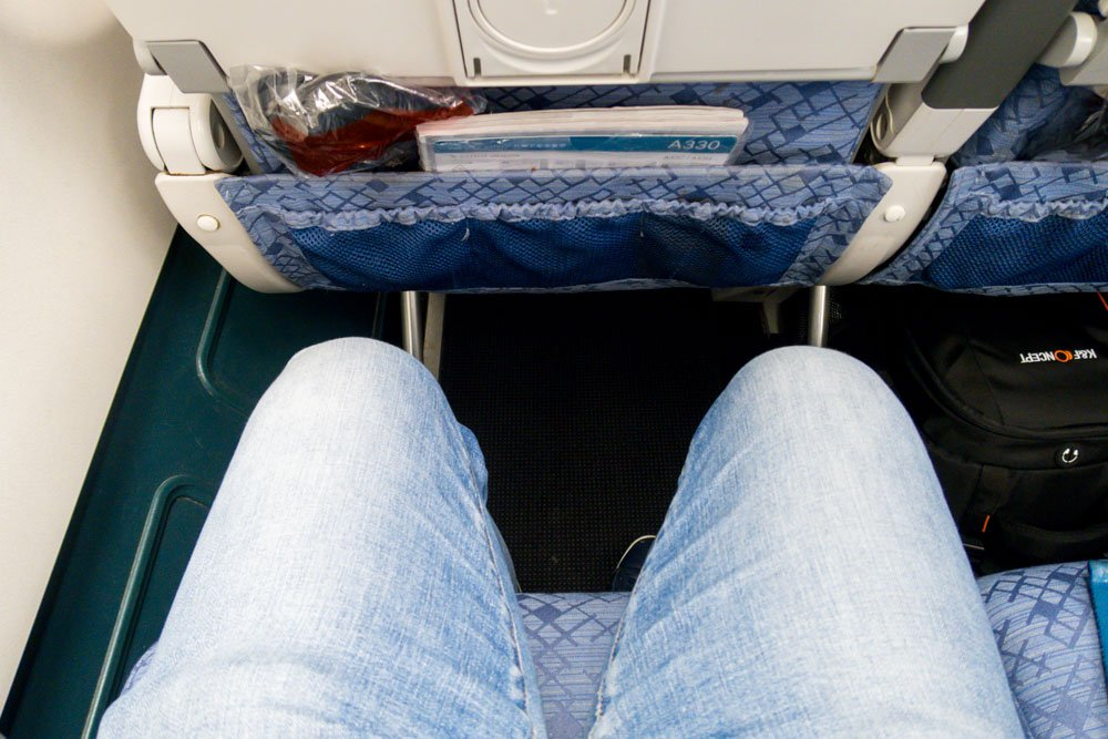 Cathay Dragon Legroom