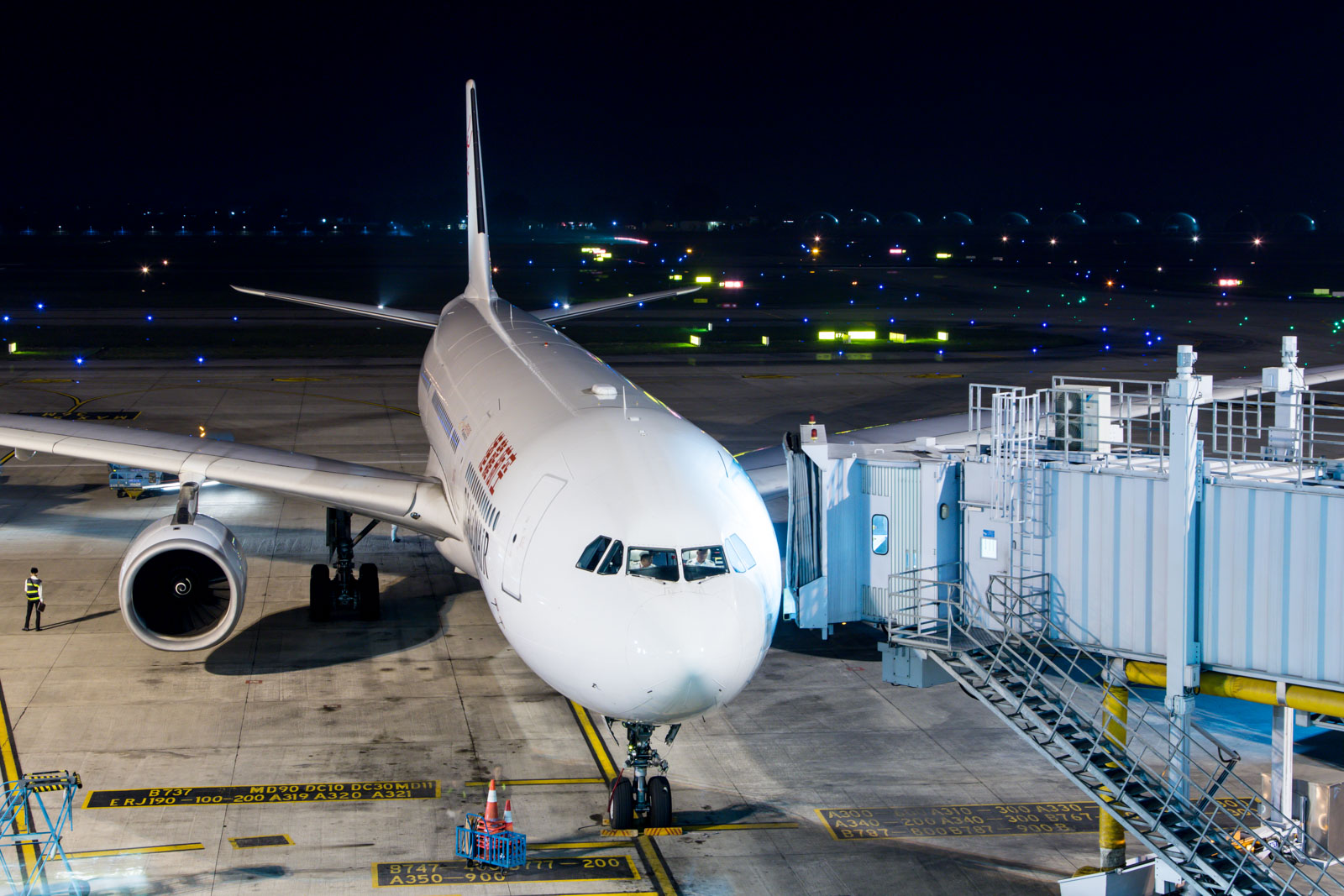 Cathay Dragon Airbus A330-300 at Hanoi Airport