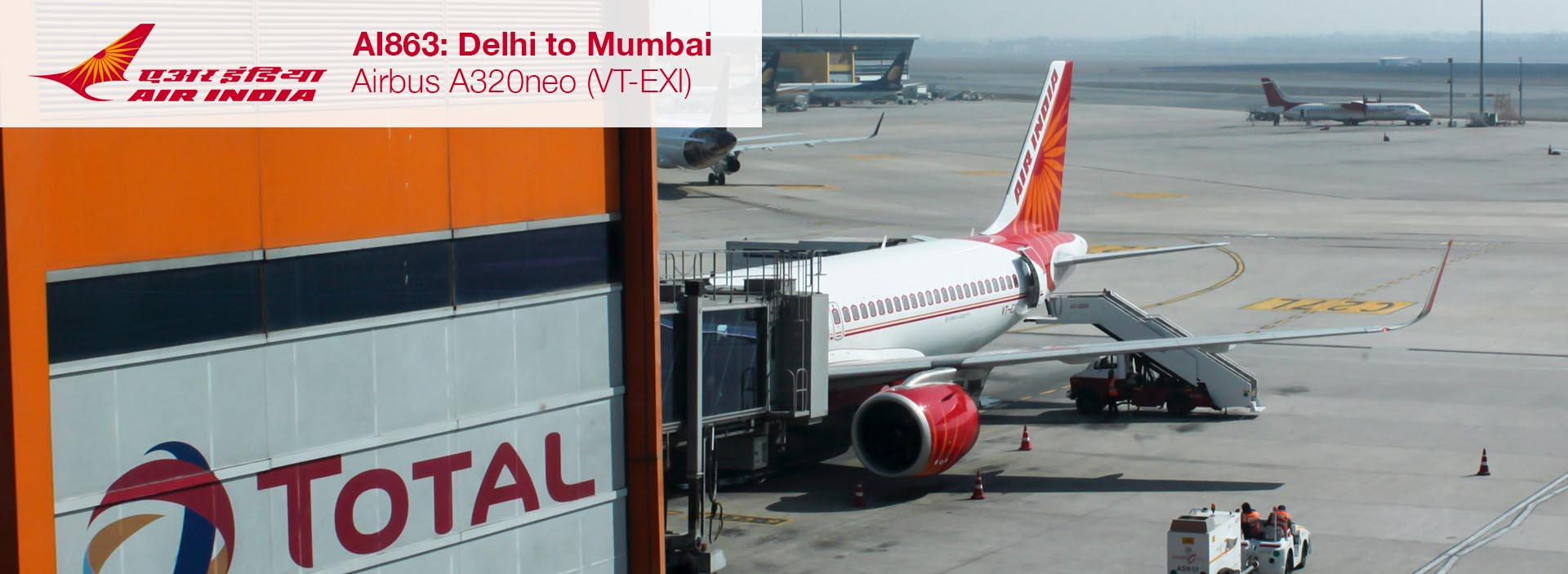 Flight Review: Air India A320neo Economy Class from Delhi to Mumbai
