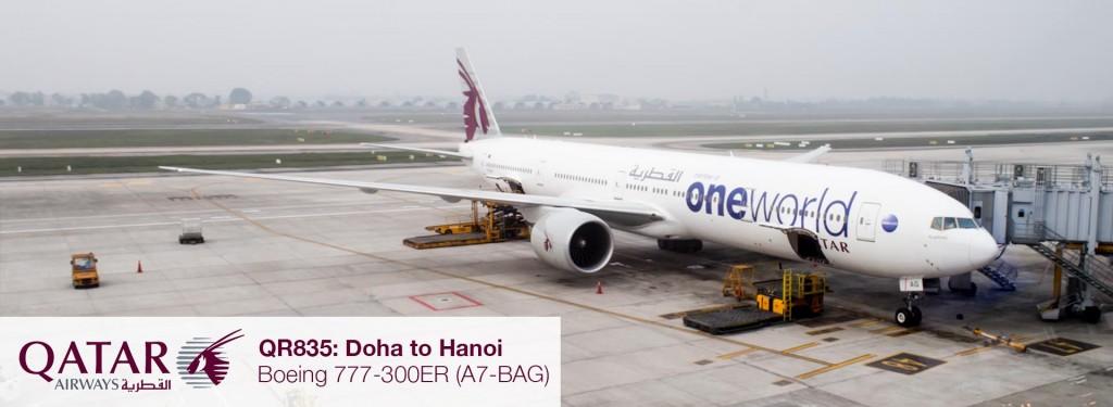 Flight Review: Qatar Airways 777-300ER Business Class from Doha to Hanoi via Bangkok
