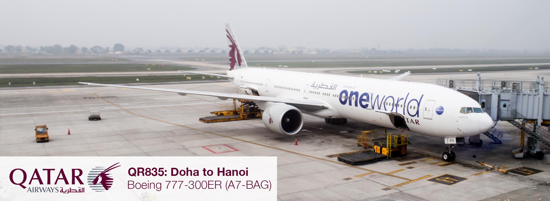 Flight Review: Qatar Airways 777-300ER Business Class from Doha to Hanoi via Bangkok