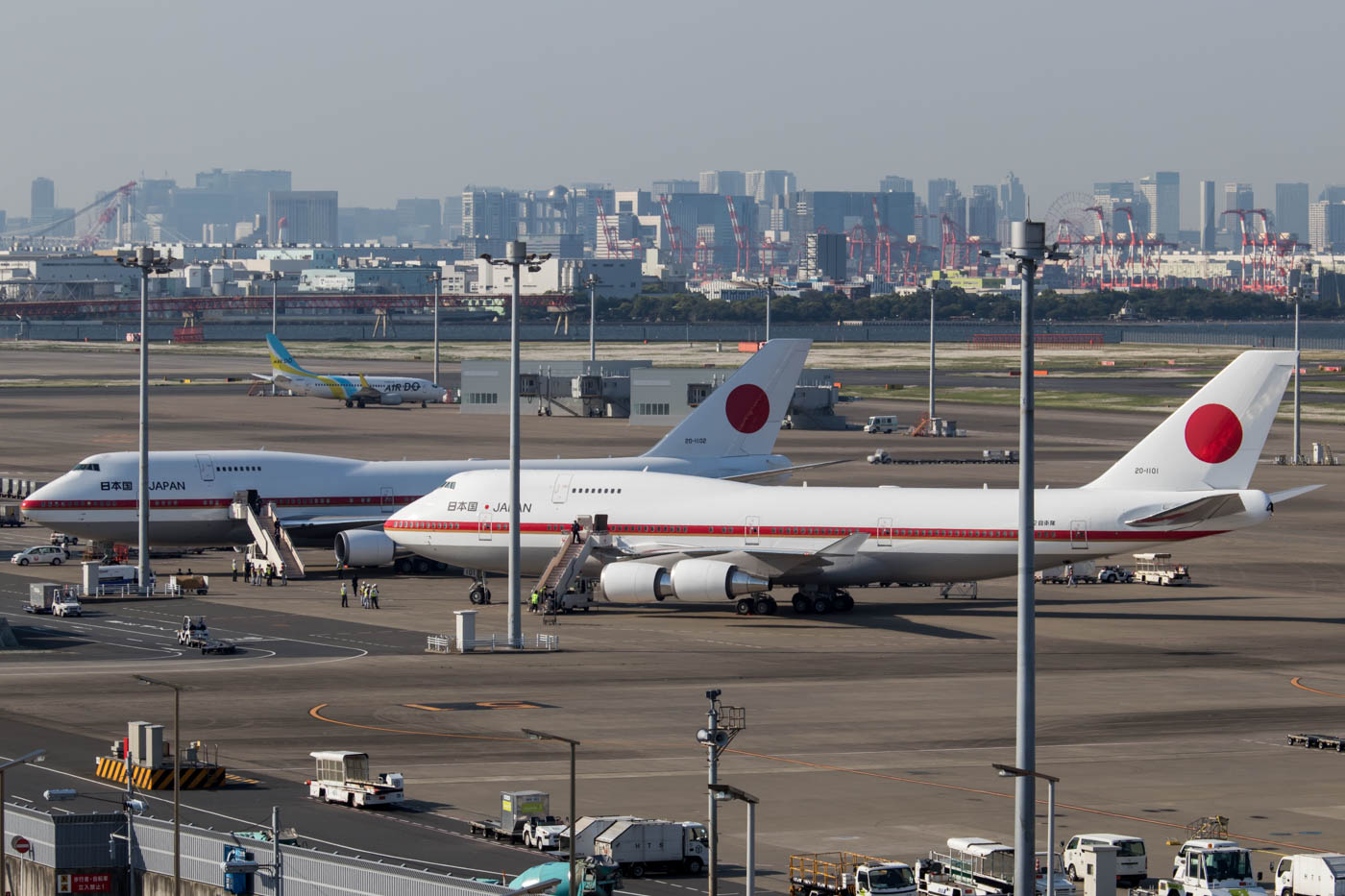 Japan Air Self Defense Force 747-400