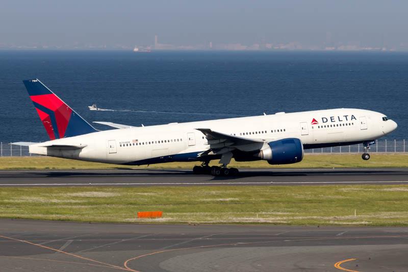 Delta Air Lines 777-200LR