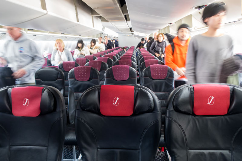 JAL Class J and Economy Class 777-300