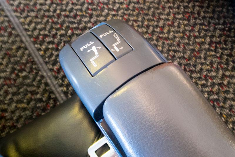 Seat Controls JAL Class J