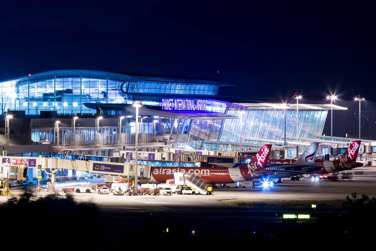 Phuket Airport from Hotel