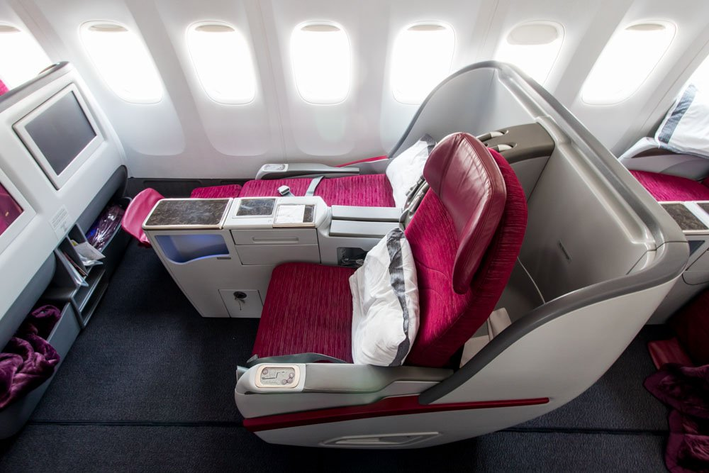 Qatar Airways Business Lie-Flat Seat
