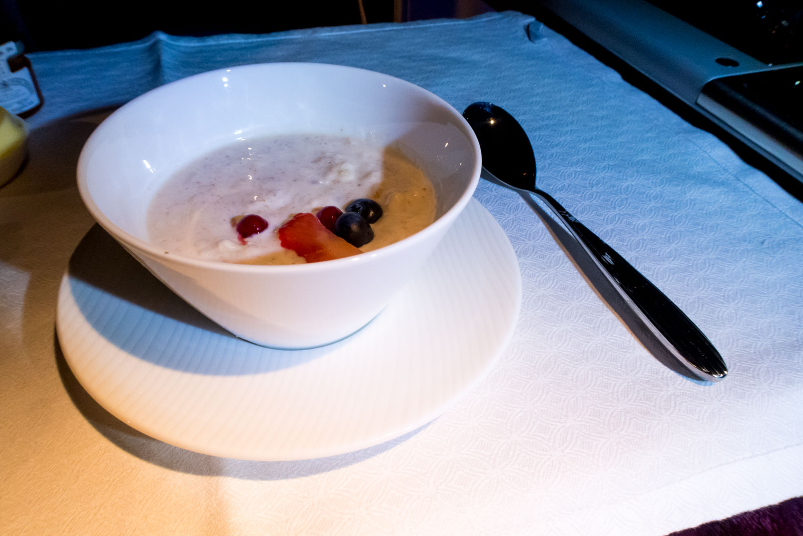 Qatar Airways Bircher Muesli