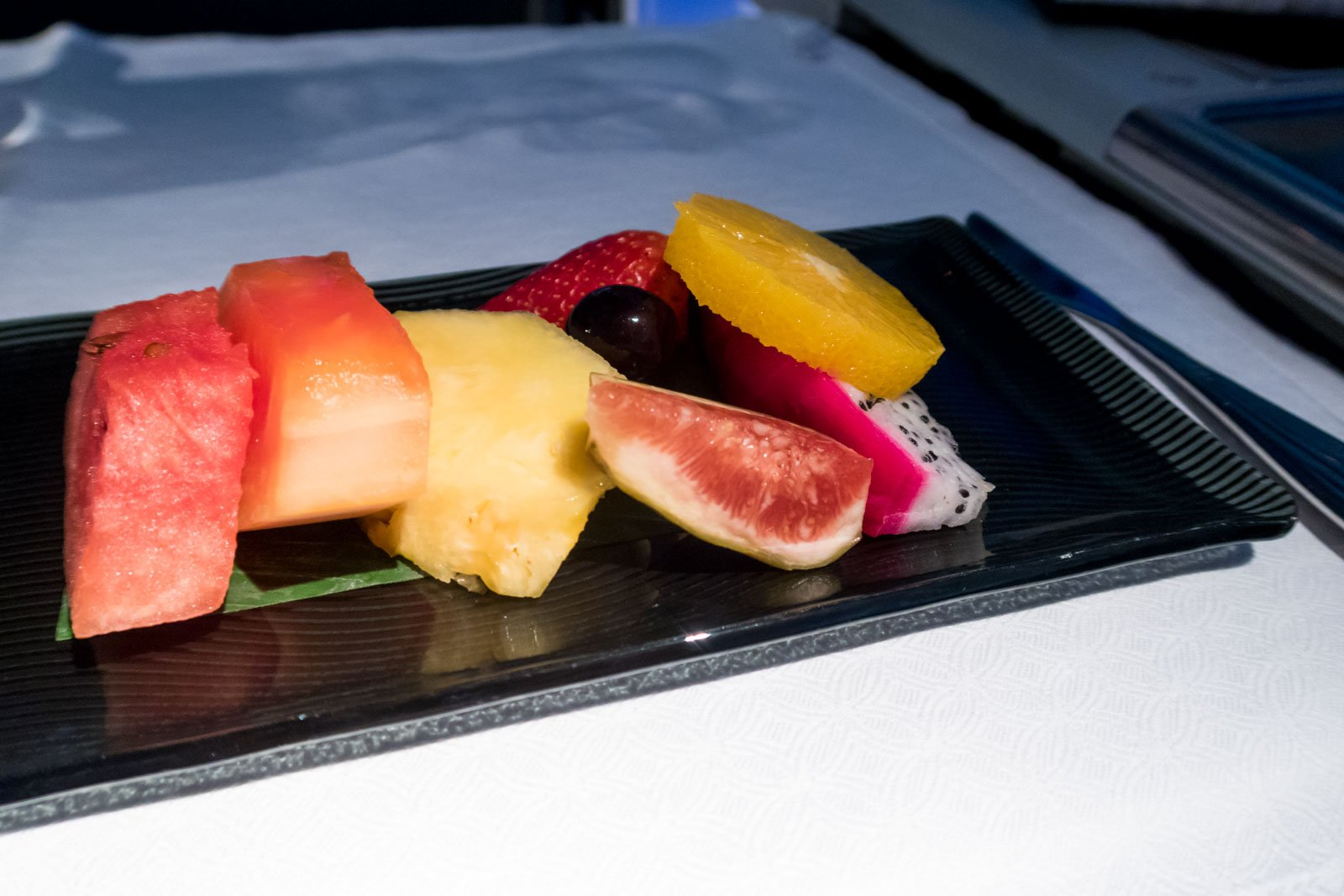Qatar Airways Fruit Plate