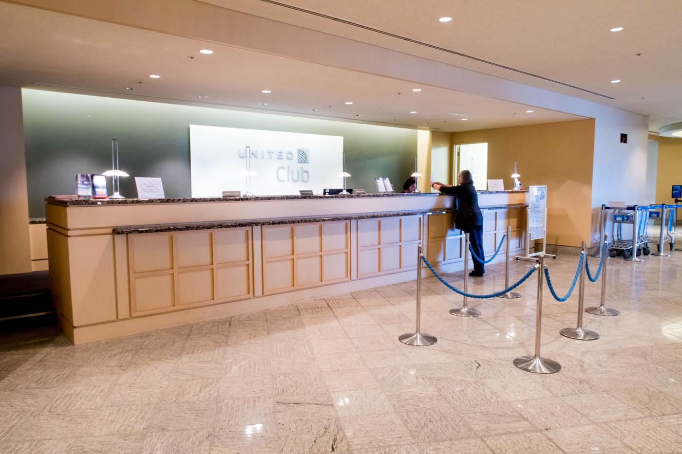 United Club Tokyo Narita Service Desk