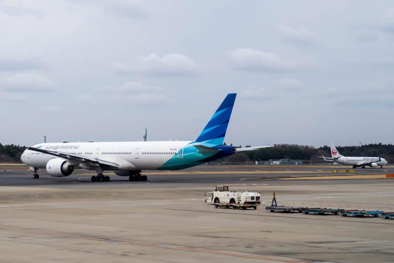 View from the United Club at Tokyo Narita