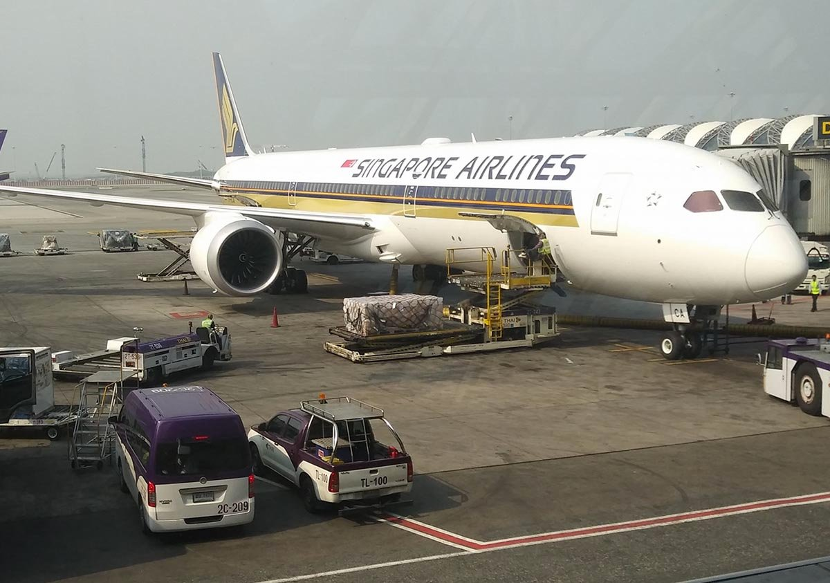 Singapore Airlines to Operate 787-10 to Osaka and Tokyo from May 2018