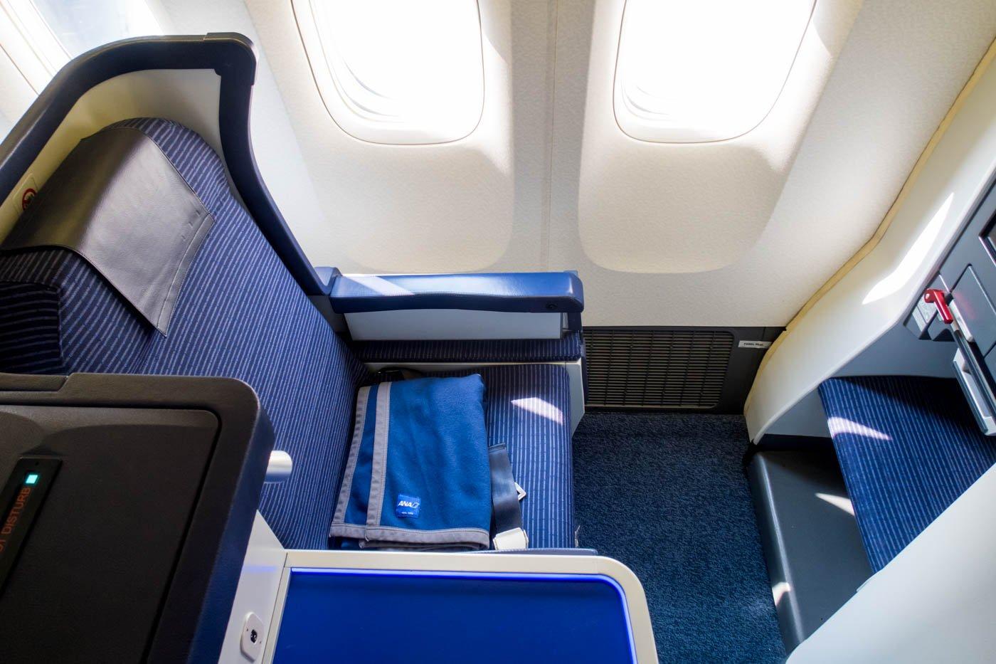 ANA 777-300ER Business Class Seat