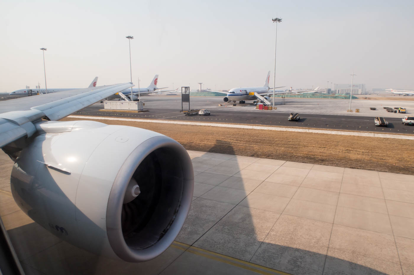 Taxiing for Departure