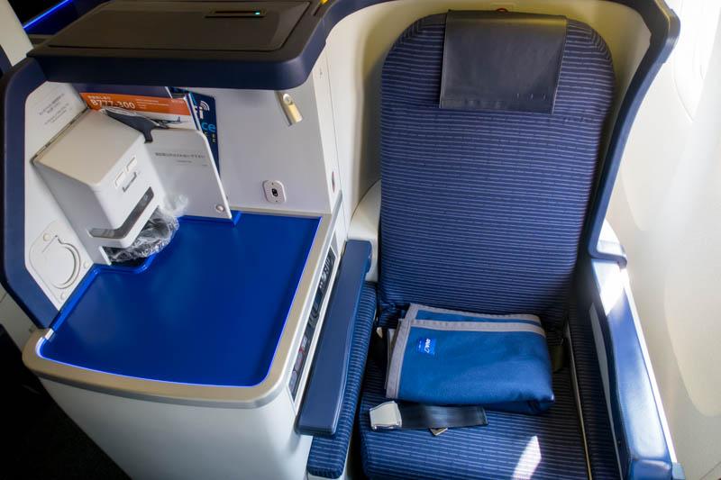 ANA 777-300ER Business Class Window Seat