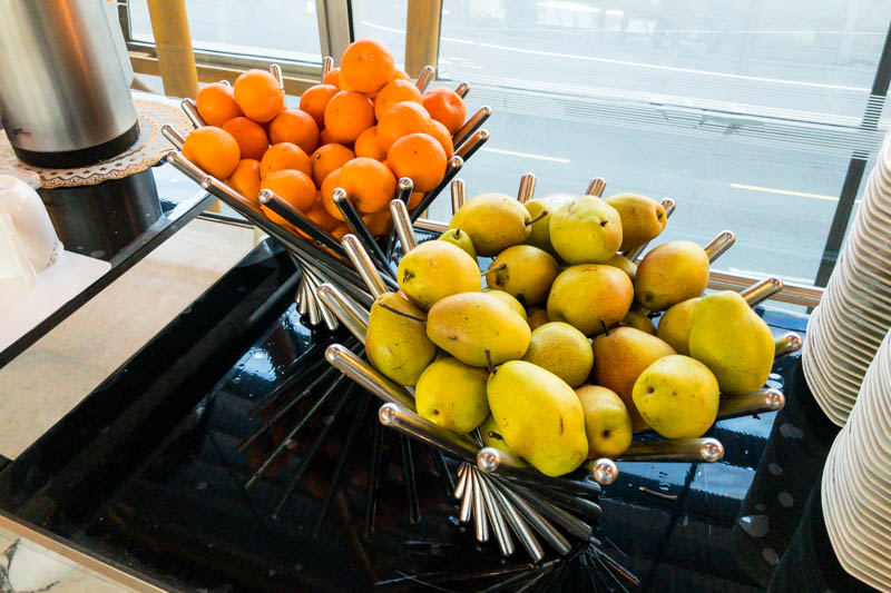 Fruits in Air China Lounge