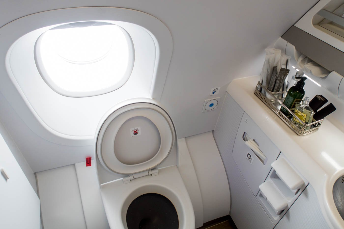 Asiana Airlines A380 Restroom