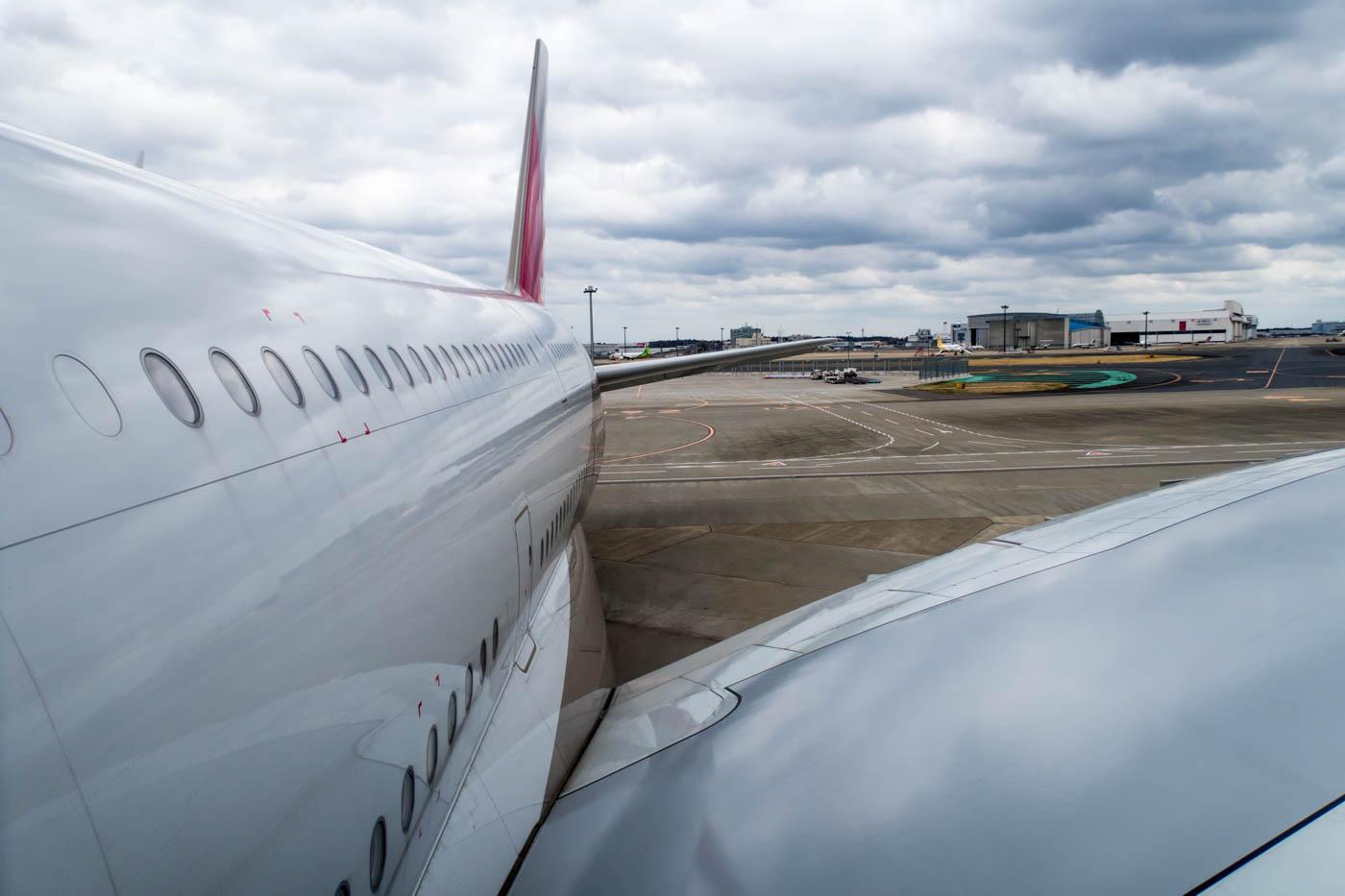 Asiana Airlines A380 at Tokyo Narita